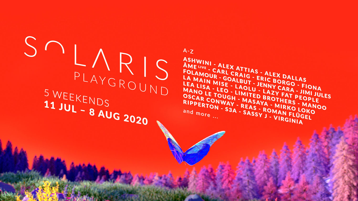 SOLARIS | Line Up 2020