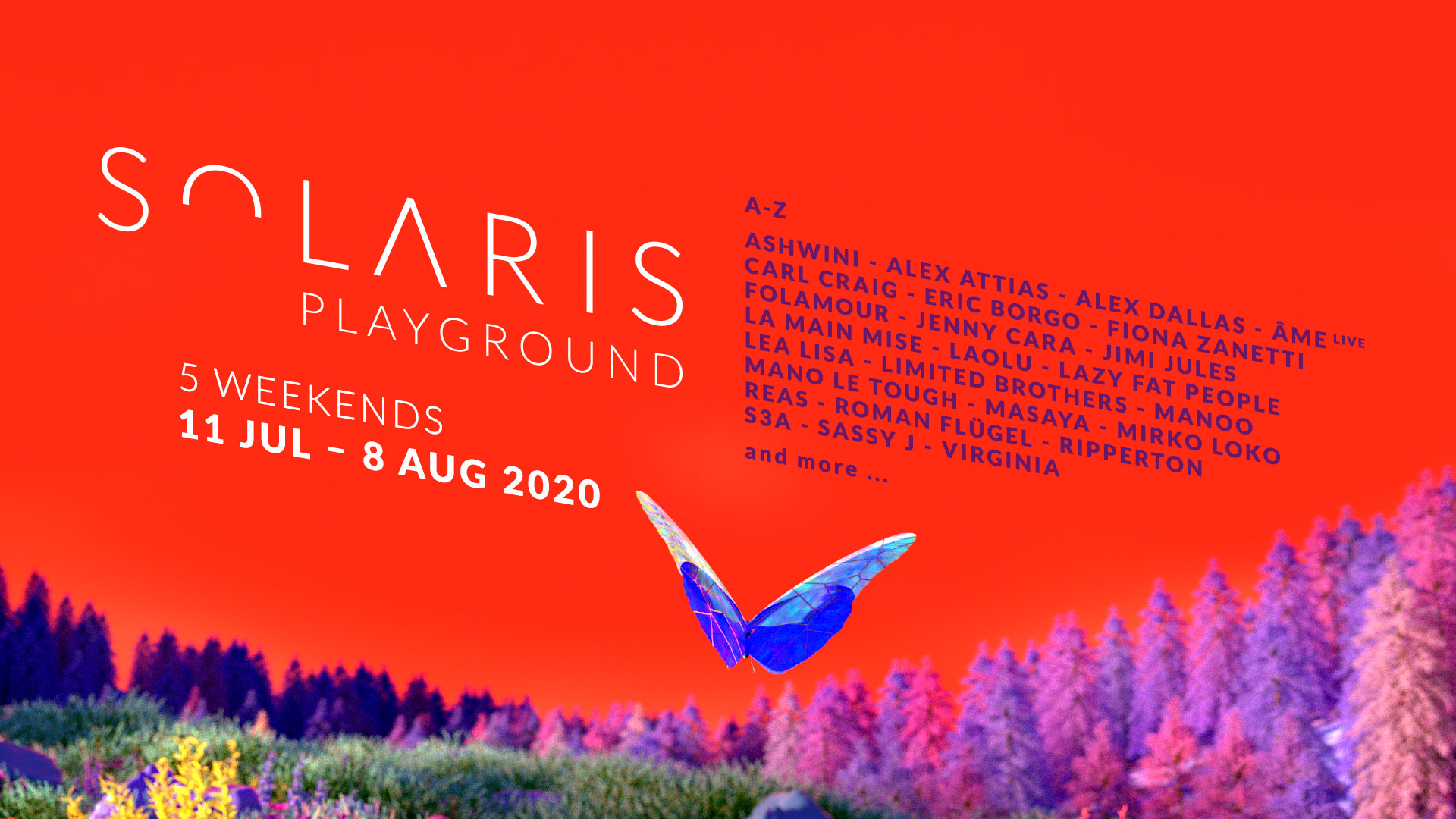 SOLARIS | Line Up 2020