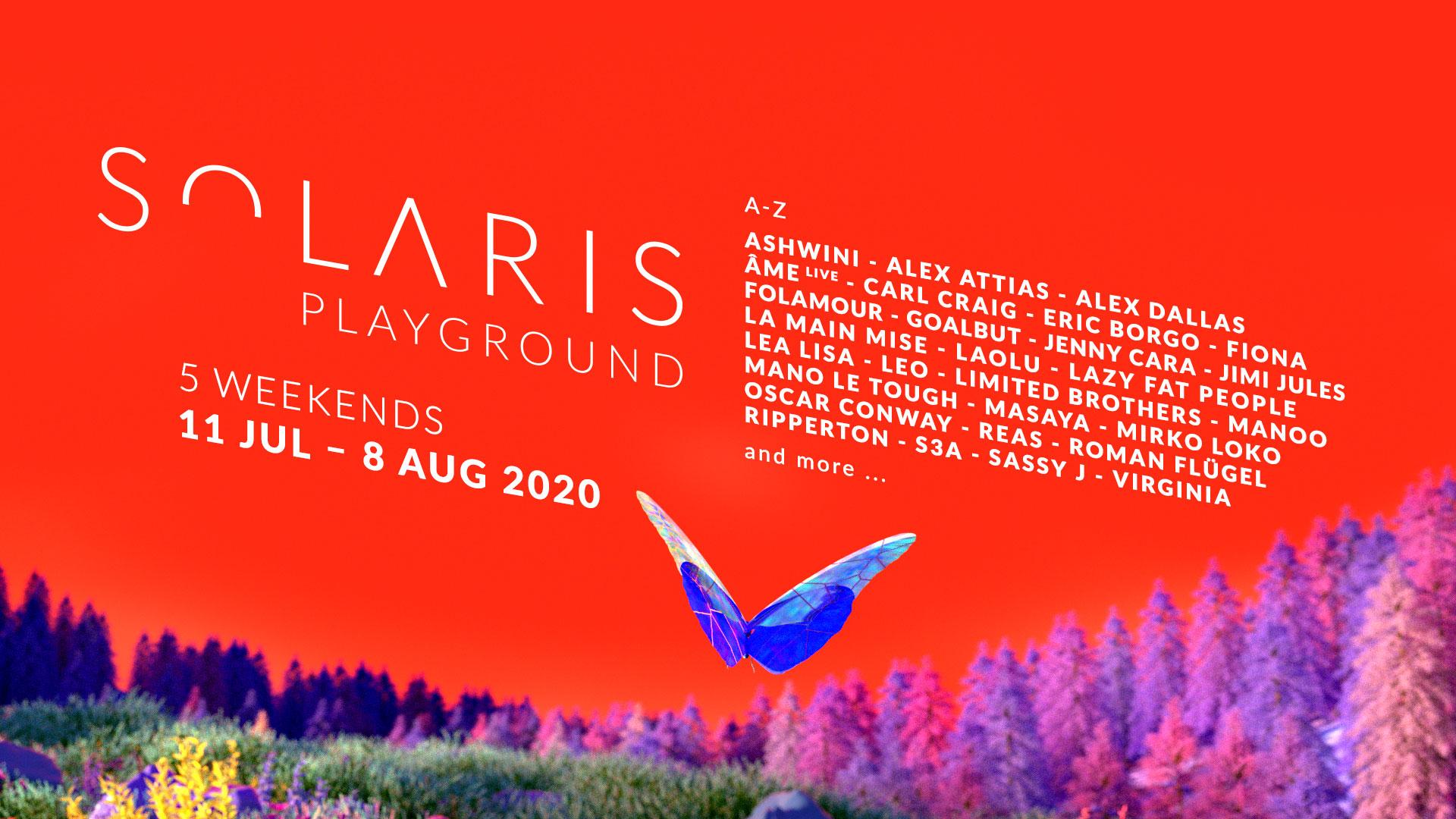 SOLARIS   Line Up 2020